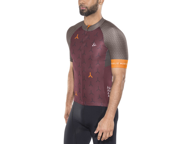 Craft Monument - Maillot manches courtes Homme - rouge